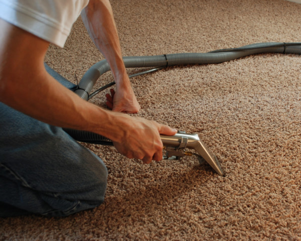 how to clean wet carpet smell